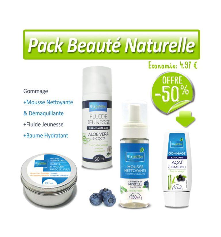 Le Pack Beauté Naturelle (offre découverte)