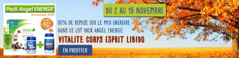 Pack Angel Energie -50% jusqu'au 15 novembre !