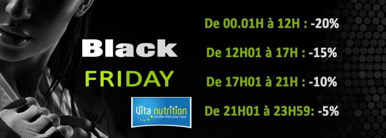 Black Friday VITA NUTRITION le 24 novembre