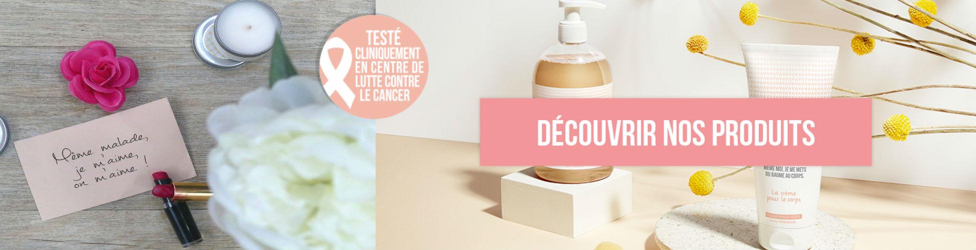 MÊME est la première marque de produits de beauté spécifiquement développée pour et par les femmes concernées par le cancer.