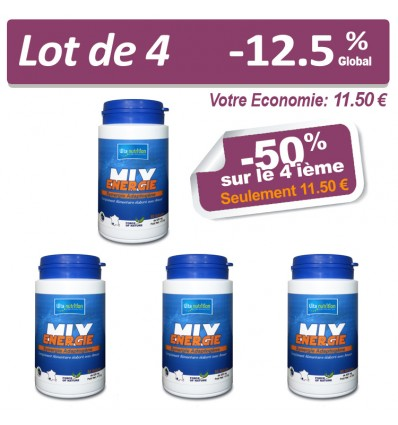 LOT MIX ÉNERGIE x4