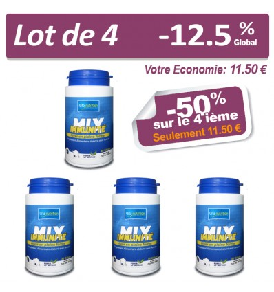 LOT MIX IMMUNITÉ X 4