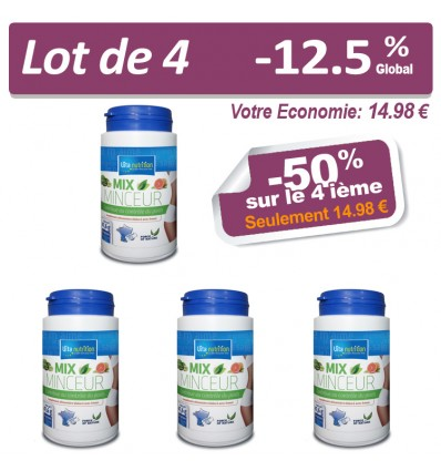 LOT MIX MINCEUR x4