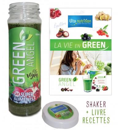 SHAKER GREEN ET LIVRET RECETTES