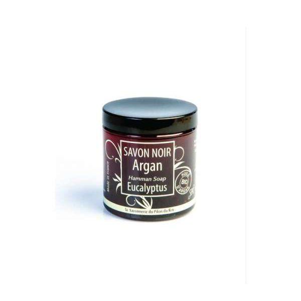 Savon noir hammam Argan bio et Eucalyptus – 250gr