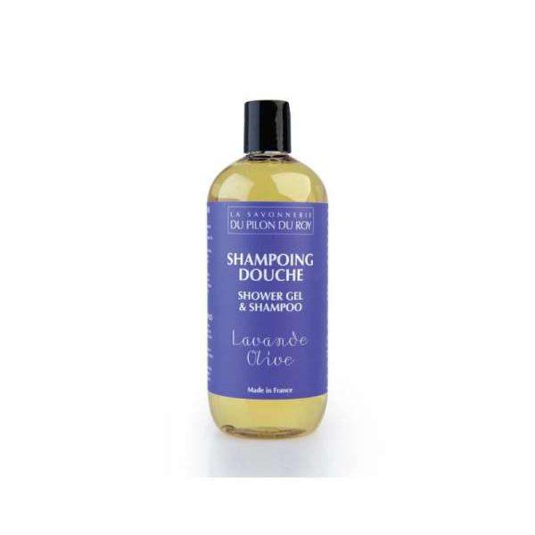 Shampoing-douche Huile d'Olive et Lavandin – 500ml