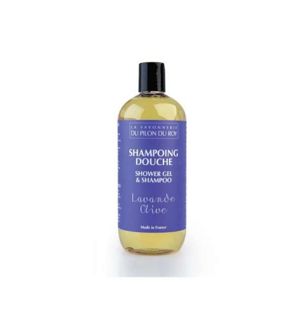 Shampoing-douche Huile d'Olive et Lavandin - 500ml