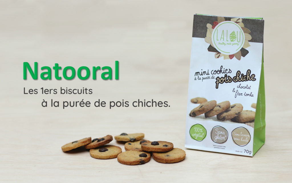 mini cookies pois chiches fève tonka chocolota
