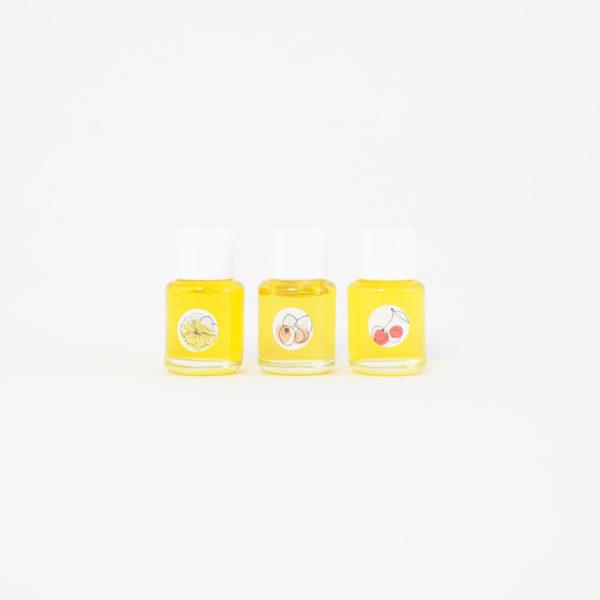 Huiles Botaniques Trio Mini peaux mixtes à grasses