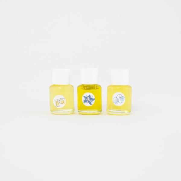 Huiles Botaniques Trio Mini peaux sèches