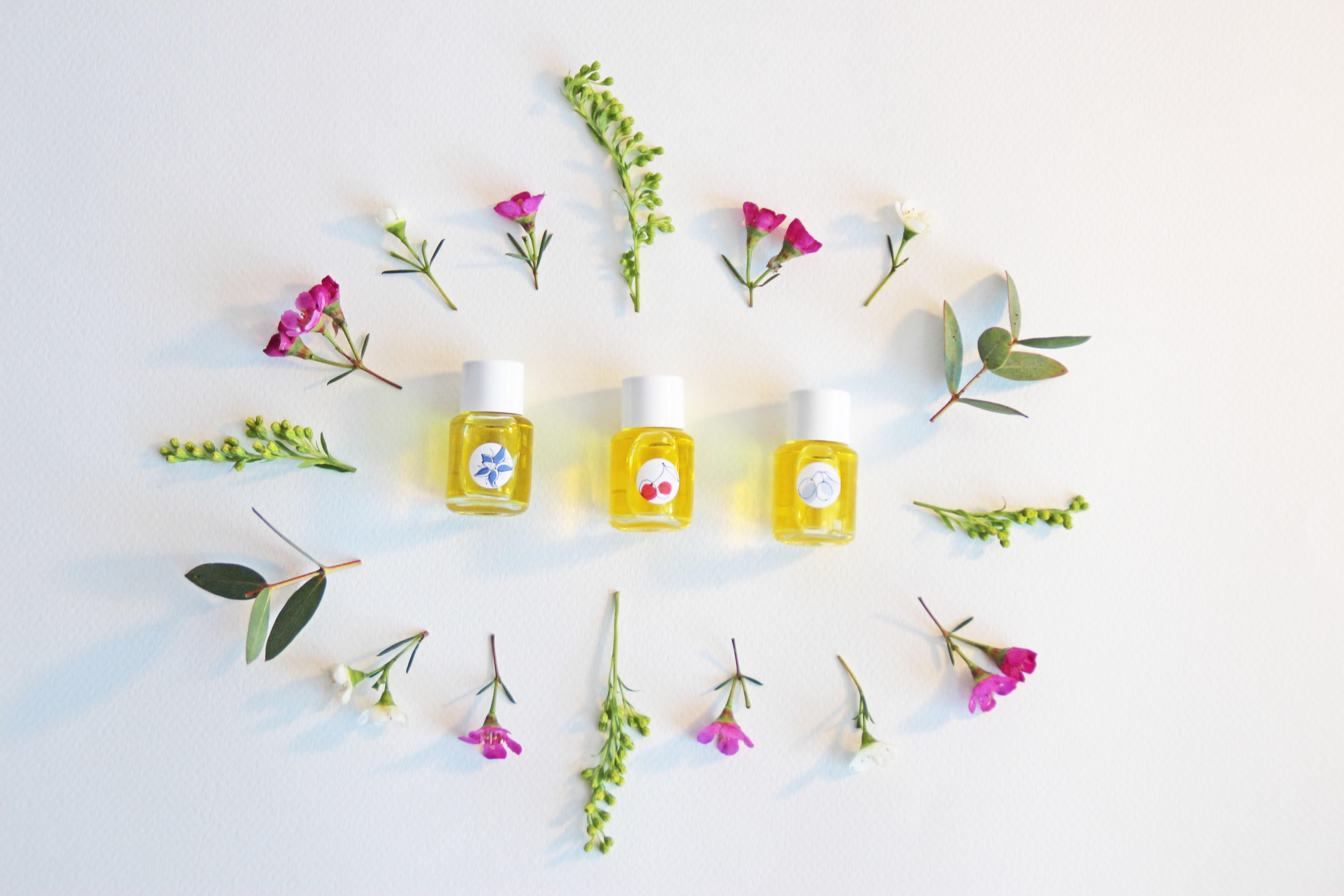 Huiles Botaniques Bio les Trio Mini : plus d'un mois de soins Bio pour votre visage !