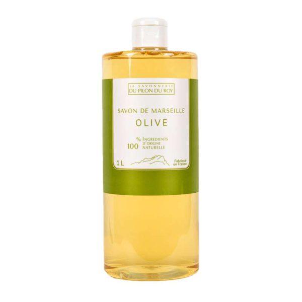 Savon de Marseille Liquide à l'Huile d'Olive Bio 1000ml