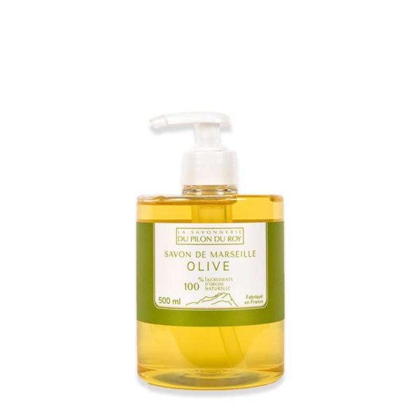 Savon de Marseille Liquide à l'Huile d'Olive Bio 500ml
