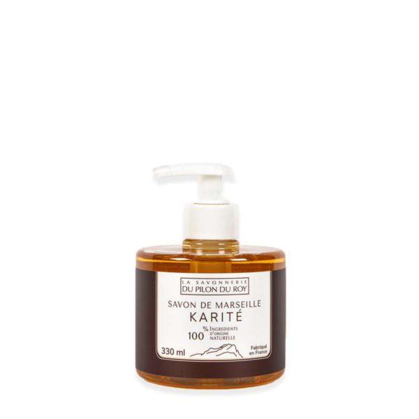 Savon de Marseille Liquide Olive Karité Verveine 330ml