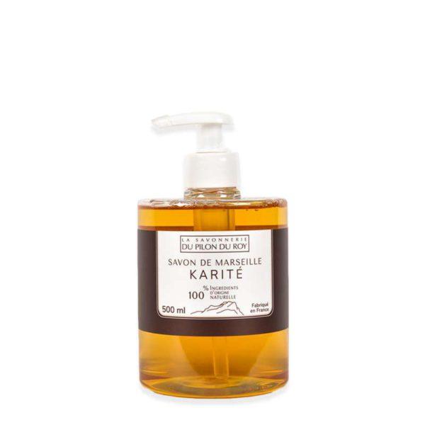 Savon de Marseille Liquide Olive Karité Verveine 500ml