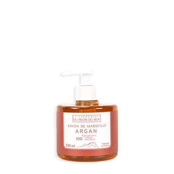 Savon de Marseille Liquide Orange Argan Bio 330ml