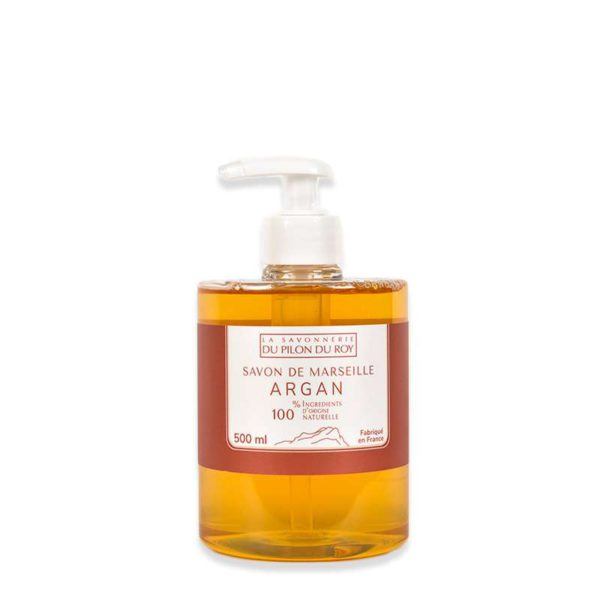 Savon de Marseille Liquide Orange Argan Bio 500ml