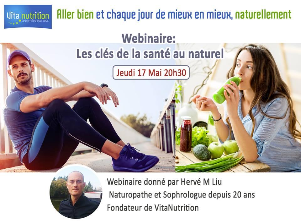 NATOORAL vous invite jeudi 17 mai 20h30 à la rencontre du fondateur de VITANUTRITION