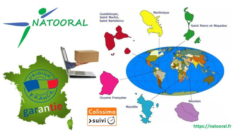 NATOORAL livre en France …et en Outre-mer !