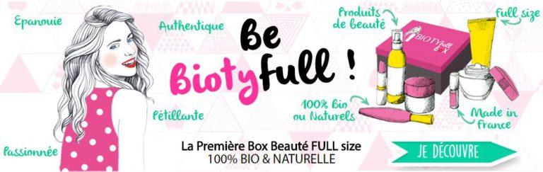 Box Beauté FULL size 100% BIO et NATURELLE