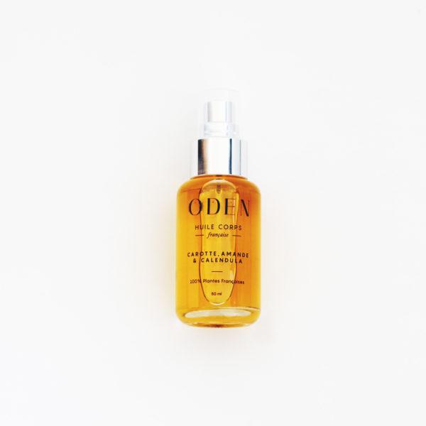 huiles botaniques corps 3 huiles végétales rares amande douce, carotte et Calendula : le mix parfait pour réparer, préserver et illuminer votre peau.