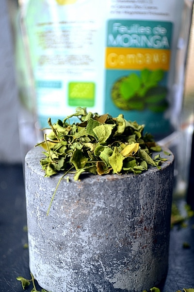 MORINGA COMBAWA BIO – Sachet de feuilles 50g