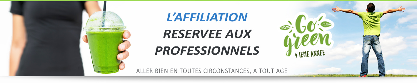 Partenariat Consultant Green réservé aux professionnels pour l'affiliation rémunérée et l'achat-revente des produits https://natooral.fr/vitanutrition
