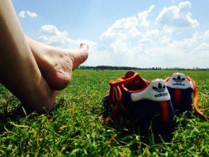 soins des pieds des sportifs